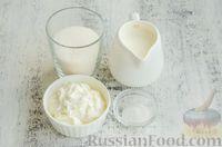 Фото приготовления рецепта: Профитроли со сливочно-творожным кремом - шаг №13