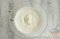 Фото приготовления рецепта: Профитроли со сливочно-творожным кремом - шаг №15