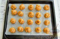 Фото приготовления рецепта: Профитроли со сливочно-творожным кремом - шаг №12
