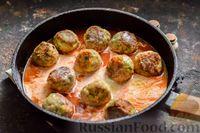 Фото приготовления рецепта: Тефтели в сливочно-томатном соусе - шаг №12