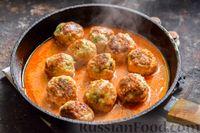 Фото приготовления рецепта: Тефтели в сливочно-томатном соусе - шаг №13