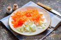 Фото приготовления рецепта: Куриный суп со шпинатом, плавленым сыром и сливками - шаг №4
