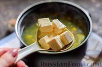 Фото приготовления рецепта: Куриный суп со шпинатом, плавленым сыром и сливками - шаг №10