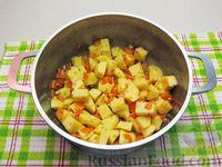Фото приготовления рецепта: Картофельный суп с плавленым сыром - шаг №11