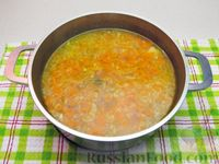 Фото приготовления рецепта: Картофельный суп с плавленым сыром - шаг №14