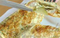 Фото к рецепту: Бутерброды в омлете
