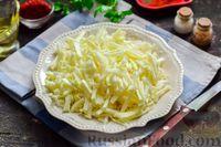 Фото приготовления рецепта: Суп с фаршем, капустой и рисом - шаг №3