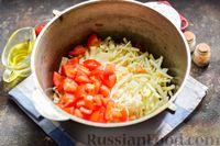 Фото приготовления рецепта: Суп с фаршем, капустой и рисом - шаг №8