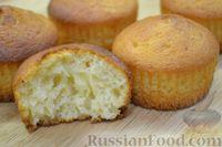 Фото к рецепту: Быстрые кексы на йогурте