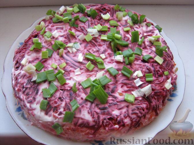 Салат с бураком рецепты