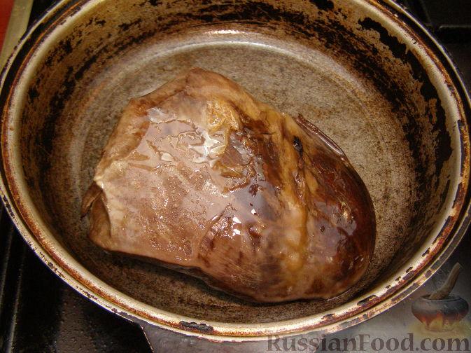 Рецепт из легкого телячье