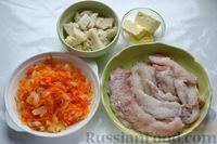 Фото приготовления рецепта: Рыбные котлеты с луком, морковью и петрушкой - шаг №9
