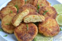 Фото приготовления рецепта: Рыбные котлеты с луком, морковью и петрушкой - шаг №19