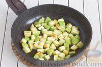 Фото приготовления рецепта: Закуска из кабачков с ореховой заправкой - шаг №6