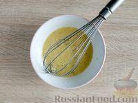 Фото приготовления рецепта: Омлет с кабачком и колбасой (в духовке) - шаг №8