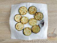 Фото приготовления рецепта: Омлет с кабачком и колбасой (в духовке) - шаг №5