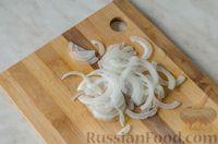 Фото приготовления рецепта: Салат из брокколи и помидоров, с перцем, маслинами и песто - шаг №2