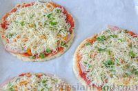 Фото приготовления рецепта: Пицца на корже из цветной капусты - шаг №16