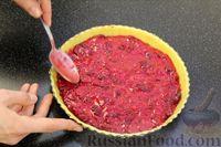 Фото приготовления рецепта: Открытый песочный пирог с ягодами - шаг №13