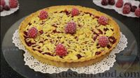 Фото приготовления рецепта: Открытый песочный пирог с ягодами - шаг №16