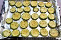 Фото приготовления рецепта: Кабачки, запечённые с сыром - шаг №6