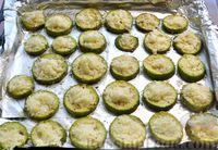Фото приготовления рецепта: Кабачки, запечённые с сыром - шаг №7