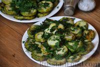 Фото приготовления рецепта: Кабачки, запечённые с сыром - шаг №9