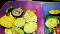Фото приготовления рецепта: Овощи гриль с пряными травами - шаг №10