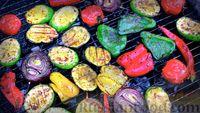 Фото приготовления рецепта: Овощи гриль с пряными травами - шаг №12