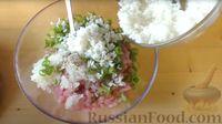 Фото приготовления рецепта: Капустная запеканка с котлетами из мясного фарша и риса, или Ленивые голубцы - шаг №6