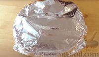 Фото приготовления рецепта: Капустная запеканка с котлетами из мясного фарша и риса, или Ленивые голубцы - шаг №10