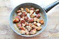 Фото приготовления рецепта: Молодая капуста, тушенная со свининой - шаг №4