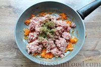 Фото приготовления рецепта: Макароны по-флотски, с мясным фаршем и сыром (в духовке) - шаг №6
