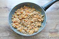Фото приготовления рецепта: Макароны по-флотски, с мясным фаршем и сыром (в духовке) - шаг №7