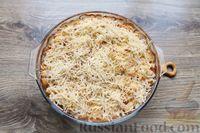 Фото приготовления рецепта: Макароны по-флотски, с мясным фаршем и сыром (в духовке) - шаг №17