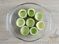 Фото приготовления рецепта: Грибной жюльен в кабачках - шаг №4
