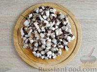 Фото приготовления рецепта: Грибной жюльен в кабачках - шаг №6