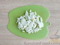 Фото приготовления рецепта: Грибной жюльен в кабачках - шаг №5