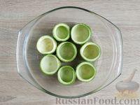 Фото приготовления рецепта: Грибной жюльен в кабачках - шаг №13