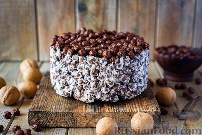 Мой фирменный ореховый торт с вареной сгущенкой! | Рецепты тортов ... | 449x673