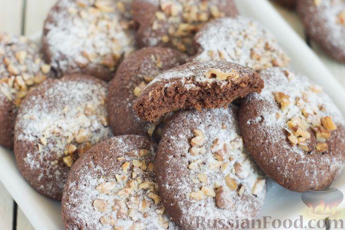 Песочное печенье, Шоколадное печенье, рецепты с фото на ... | 449x673