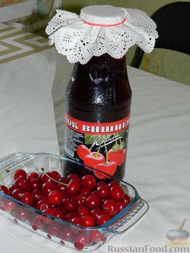Рецепт Вишневый сок
