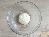 Фото приготовления рецепта: Ленивый творожный хачапури по-аджарски (на сковороде) - шаг №8
