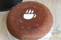 Фото приготовления рецепта: Шоколадный манник с орехами (в мультиварке) - шаг №12