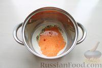 Фото приготовления рецепта: Картофельные кнели с ветчиной и сыром, со сливочно-сырным соусом - шаг №12