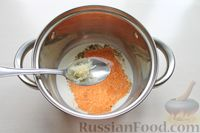 Фото приготовления рецепта: Картофельные кнели с ветчиной и сыром, со сливочно-сырным соусом - шаг №13