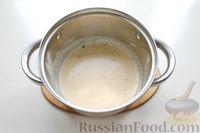 Фото приготовления рецепта: Картофельные кнели с ветчиной и сыром, со сливочно-сырным соусом - шаг №15