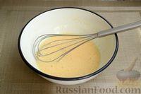Фото приготовления рецепта: Творожная запеканка с манкой и вишней (без муки) - шаг №3