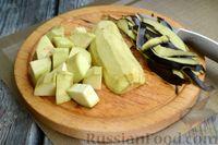 Фото приготовления рецепта: Рагу с курицей, баклажанами, картошкой и болгарским перцем - шаг №2