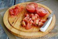 Фото приготовления рецепта: Рагу с курицей, баклажанами, картошкой и болгарским перцем - шаг №15